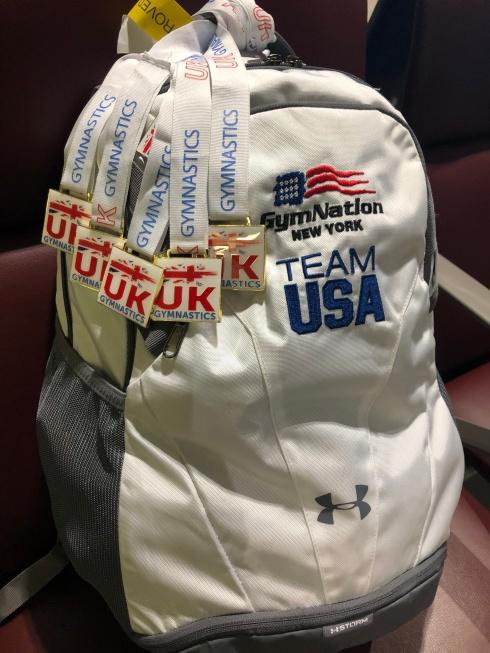 Team USA backpack London 2019